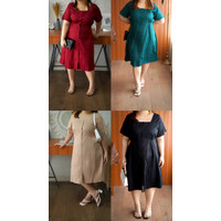 Kode 860 dress bigsize jumbo wanita