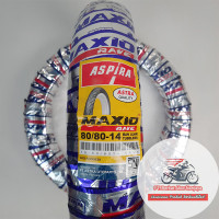 Aspira Maxio Rave 80/80-14 Ban Matic Tubeless Bonus Pentil