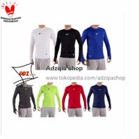 Baju manset sepeda bola pria panjang / baju sport panjang olahraga