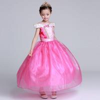 Baju Aurora Pink/Dress Aurora Pink/Baju Princess/Baju pesta anak