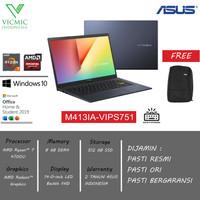 ASUS VIVOBOOK M413IA R7-4700U 8GB 512GB SSD FHD IPS WIN10 OHS