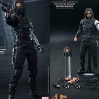 Hot Toys Hottoys Bucky Winter Soldier Good Condition Aya
