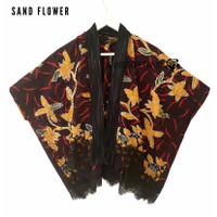 Outer Tenun lurik kimono