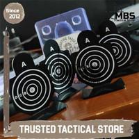 Shooting Target Set Sasaran Tembak IPSC AIRSOFT