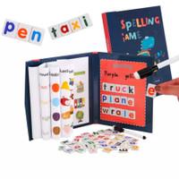 Buku Magnet Spelling Game Kid Book Belajar Menulis Anak Mainan Edukasi