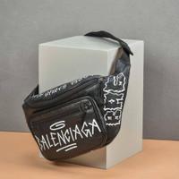 Tas balenciaga original - Balenciaga bumbag graffiti lp