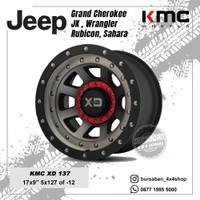 Velg KMC XD137 FMJ R17 Jeep Cherooke JK Wrangler Rubicon Sahara 5x127