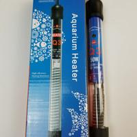 murah heater aquarium/kolam yamano 50 watt pemanas penghangat air