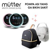 Mutter Pearl Pompa Asi Elektrik + Mutter Cooler Bag Bundling
