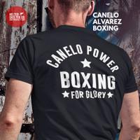Kaos T Shirt Baju Team Canelo Alvarez Boxing Gym Fighter MMA UFC - M