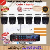 PAKET SOUND SYSTEM CAFE MINI 2