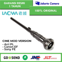 LAOWA 24mm f/14 Probe Lens FOR ARRI PL / Canon EF (CINE-MOD VERSION)