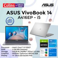 ASUS VIVOBOOK 14 A416EP I5-1135G7 4GB 512GB MX330 2GB 14 FHD W10 OHS