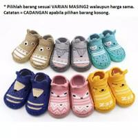 Sepatu Bayi Prewalker Bayi import Motif Animal