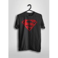BAJU KAOS SUPERHERO DC LOGO SUPERMAN ADA SUZE JUMBO