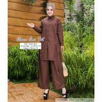Setelan Baju Muslim Wanita Remaja Indo Set Celana