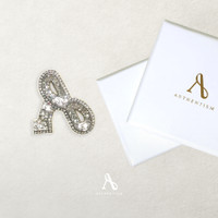 EXCLUSIVE SIGNATURE AGATHA BROOCH