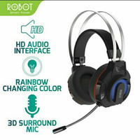 HEADSET ROBOT RH-G20 Headphone Gaming 7 LED