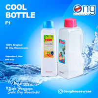 Botol Air Minum Plastik BPA FREE Cool Bottle 2 Liter Lion Star F1 F 1