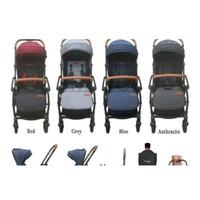 New Stroller Kereta Bayi Baby Elle Ez Switch S523 Rs Sb18