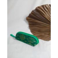 Tempat Pensil Songket Ekslusif Bermacam Warna & Motif A