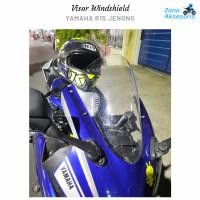 Visor Windshield Yamaha R15 model jenong V3 aksesoris R15