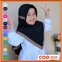 Jilbab Anak TK Renda Serut Fendy 3-7 tahun