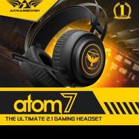 Armageddon ATOM7 7colour lighting pulsating EFX Gaming Headset