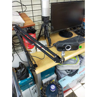 Tripod Arm For Webcam All Logitech Model Jepit Meja Tripod Terbaik