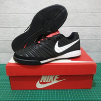 Sepatu Futsal Nike Tiempo X 10 Finale 2II Black White Premium Original