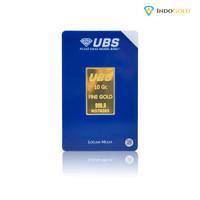 Emas UBS 10 Gram Logam Mulia,Garansi Uang Kembali Include Sertifikat.