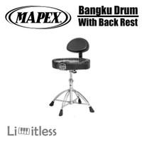 Drum Throne With Back Rest Bangku Drum / Kursi Drum Mapex T775 T-775