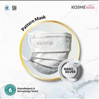 masker kosme mask pattern isi 50 original
