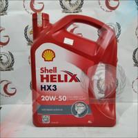 Oli SHELL Helix HX3 20W-50 4L 10436bk