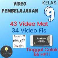 Video Belajar Matematika dan Fisika Kelas 9 K13 - USB Type C