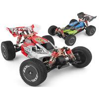 WLtoys 144001 RC Car Buggy 60kmh 2.4ghz 4WD All Terrain WL toys Remote
