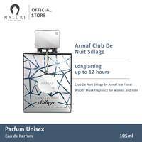 Parfum Original Armaf Club De Nuit Sillage For Unisex Edp 105ml