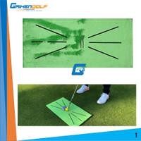 Golf Matras Karpet Pad Alas Mat Latihan Swing Track Outdoor
