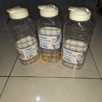 BOTOL MINUM JUMBO LOCK n LOCK botol minum 2 liter yang ini 1.5 liter