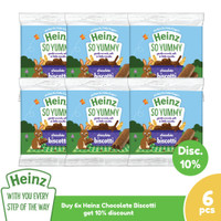 HEINZ Chocolate Biscotti 60 Gr - 6 pcs