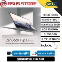 ASUS ZENBOOK FLIP UX363EA-EM501TS i5-1135G7 8GB 512GB 13 FHD W10 OHS