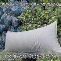 bantal cinta busa inoac soft lapisan memory foam