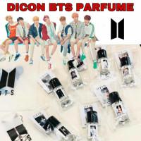 BISA COD Gratis Tas + Postcard New D-ICON BTS BT21 Parfume Minyak Wang