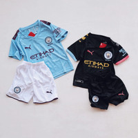 Baju Bola Anak Manchester City Bisa Pakai Nama