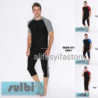 Baju Renang Pria Dewasa Ukuran L dan XL Sulbi SBAB-01