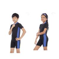 Baju renang diving anak tanggung polos