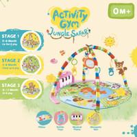 IMUNDEX 360 All Day Activity Gym/Playgym/Playmat versi Bulat (Round)