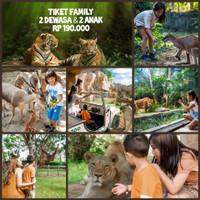 Voucher Tiket Family Bali Zoo Park KTP Bali