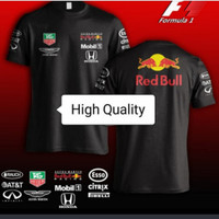 Tshirt Pria. Kaos Harian. Baju Seragam. Redbull Honda Aston Martin