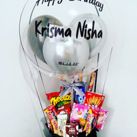 Buket Snack Balon Wisuda Graduation Birthday Valentine